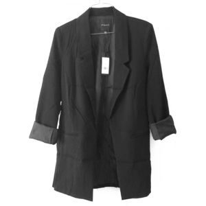 Dynamite structured open blazer NWT
